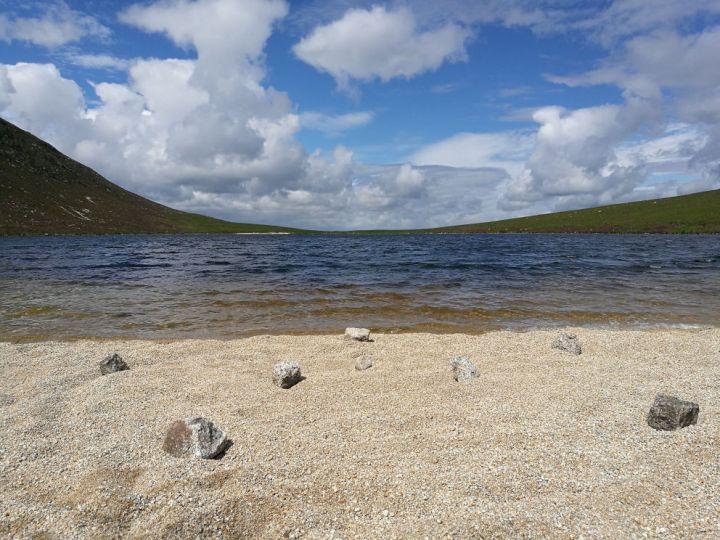 Coire Fhionn Lochan, Isle of Arran, Ayrshire, Scotland
