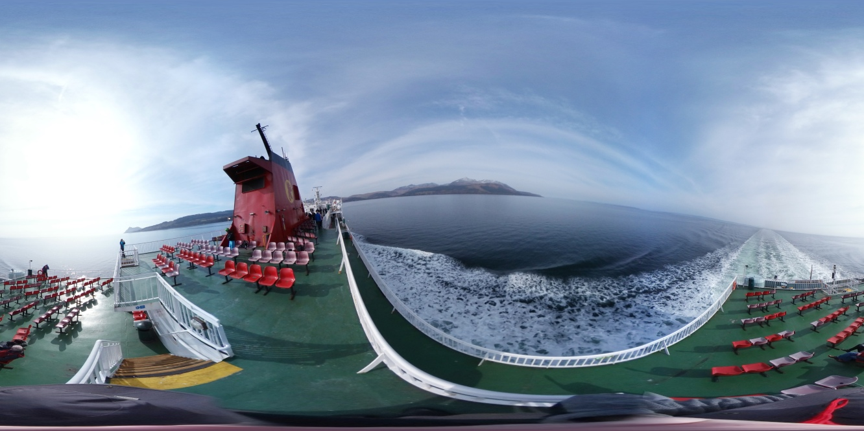 Ferry to the Isle of Arran, Scotland