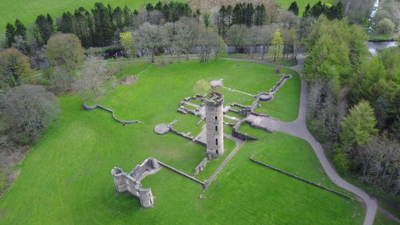 Eglinton Castle Ruins-Ayrshire-Scotland