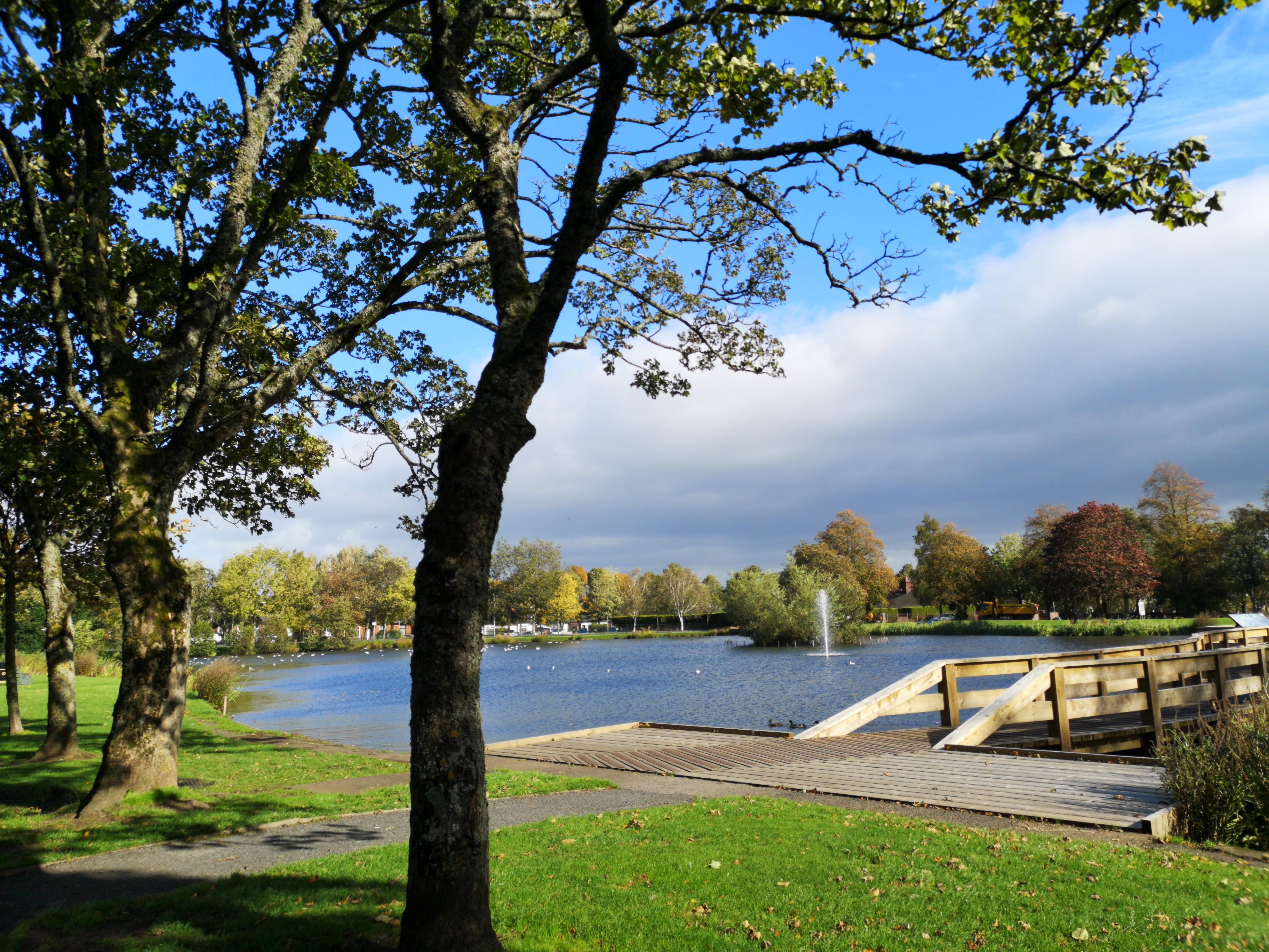 Kay Park Pond, Kilmarnock